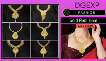 Luxury 22k Gold Rani Haar Designs with Price