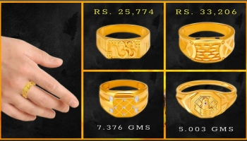 Tanishq Gold Rings for Men with Price and Weight