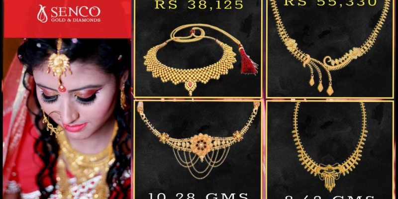 Light Weight Gold Necklace Designs in 10 Grams with Price and Weight