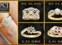 PC Jewellers Diamond Rings with Price (Womens Jewellery Designs)