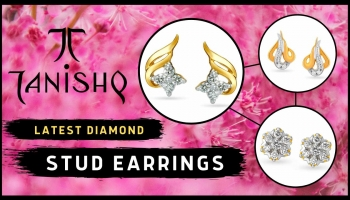 Tanishq Diamond Stud Earrings Designs With Price (2019)