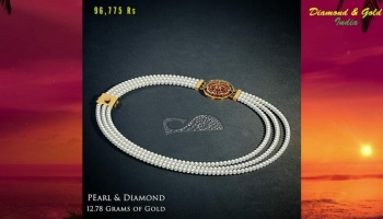 Delightful Pearl Necklace Designs With Price (2018)