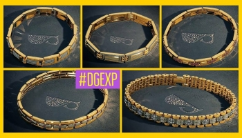 Designer Gold Bracelet Designs for Men With Price & Weight