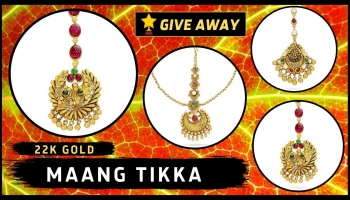 Gold Maang Tikka Designs With Price | Kalyan Jewellers