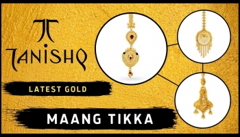 Gold Maang Tikka Designs With Price (Latest from Tanishq)