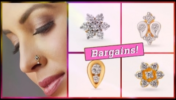 Tanishq Diamond Nose Pin Designs With Price (2019)