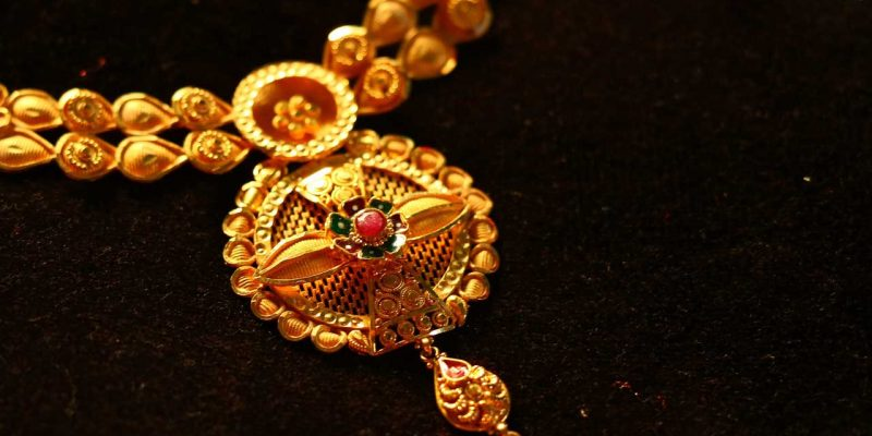 40 To 49 Grams Gold Necklace Designs From India with Prices & Weight