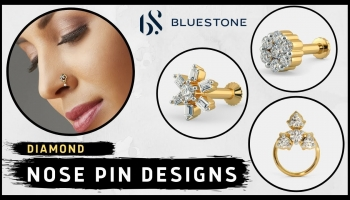 Latest Diamond Nose Pin Designs with Price