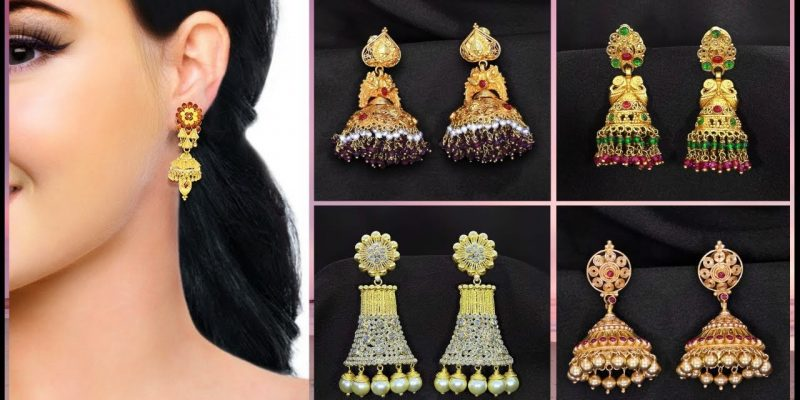 Latest Gold Jhumka Designs with Price | Kalyan Jewellers