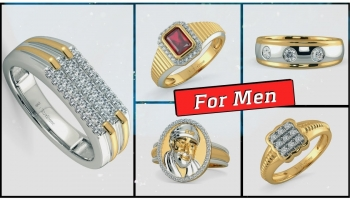Mens Diamond Rings Designs in Gold with Price (2019)