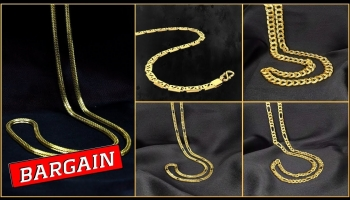 Mens Gold Chain Designs with Price & Weight (2019)