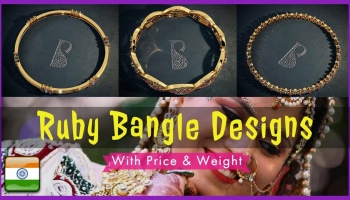 Ruby Bangles Designs With Price (2018) | Gemstone Jewellery