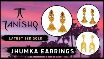 Tanishq Gold Jhumka Earrings Design With Price (2019)