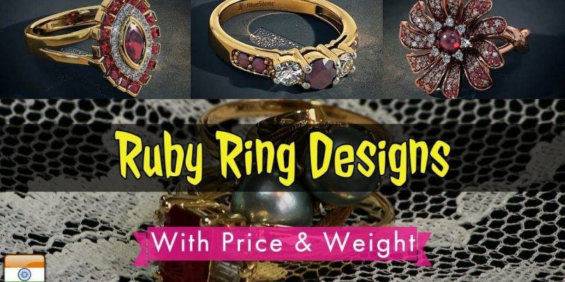 Womens Ruby Rings Designs With Price (2018)